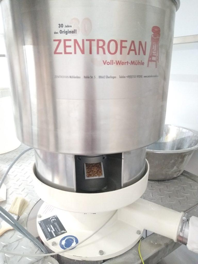 Zentrofan mill in action